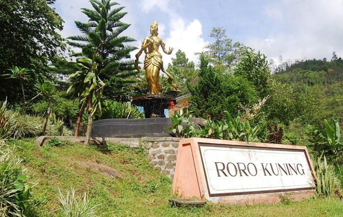 Tempat wisata nganjuk ini berada pada ketinggian 600 m dpl dan memiliki tinggi antara 10-15 m.