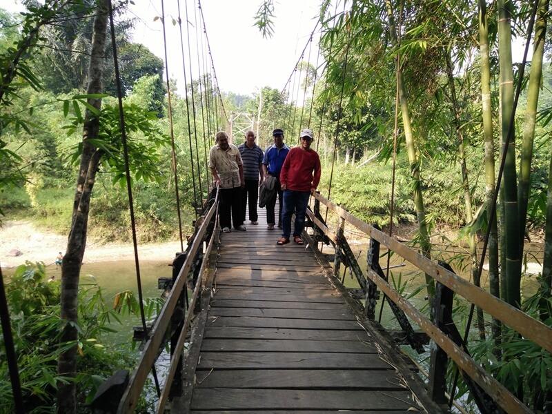 Jembatan Yang Akan Membawamu Menuju Bukit Langara
