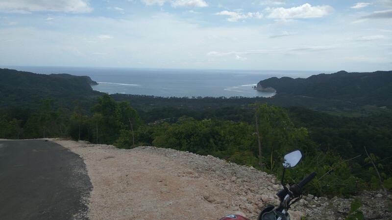 View Sebelum Sampai Di Lokasi Utama