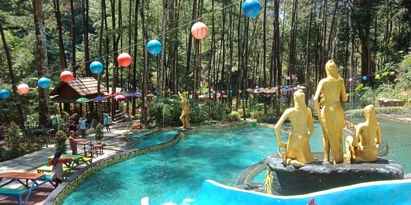 Berenang Di Srambang Park