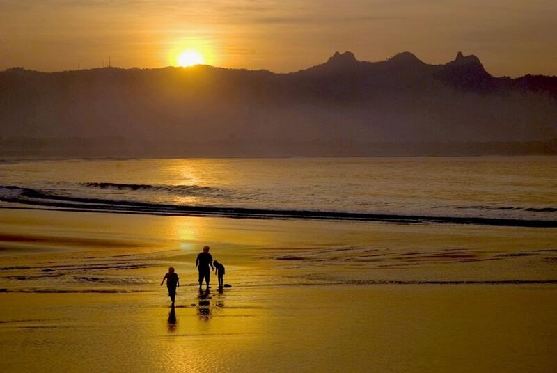 Cantiknya Sunset Di Teleng Ria