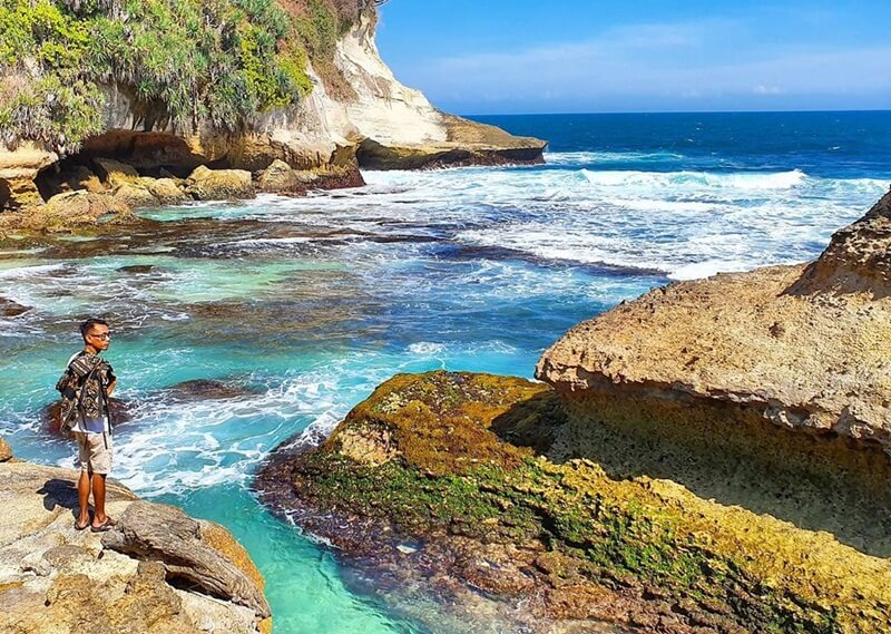 Indahnya Pantai Ngandul