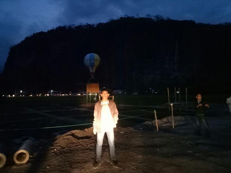 suasana malam di lembah harau