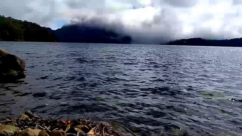 kondisi air danau gunung tujuh