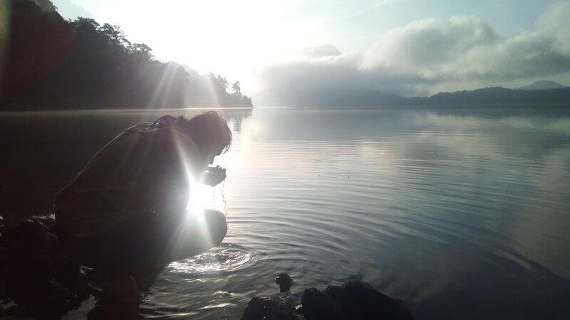 terdapat cerita misteri di danau gunung tujuh