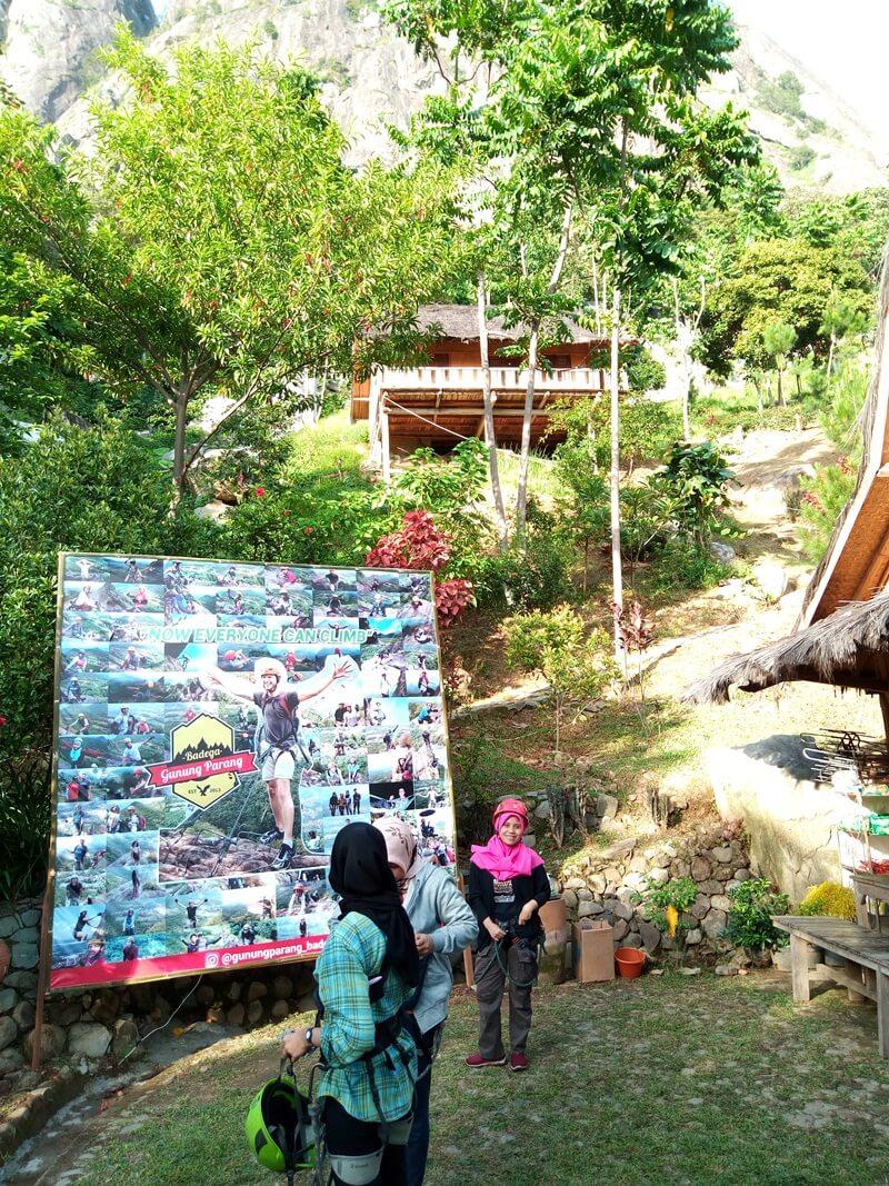 Base Camp Gunung Parang