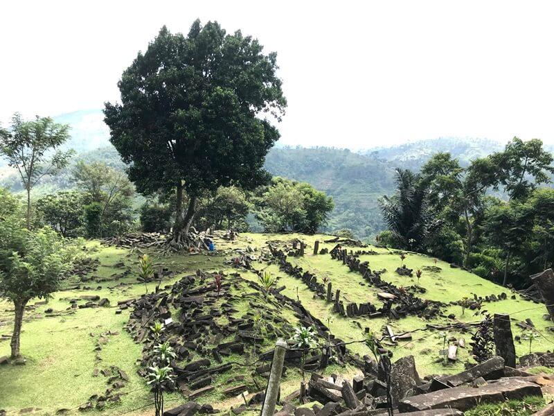 Bukti Kemajuan Peradaban Gunung Padang