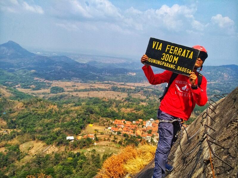 Gunung Parang Via Ferrata