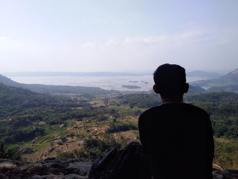 Panorama Alam Gunung Parang