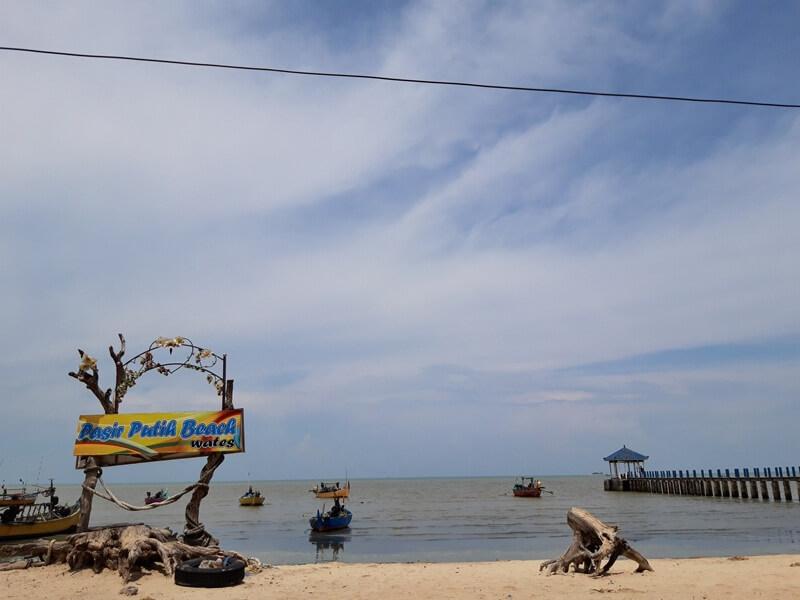 Pasir Putih Beach Wates