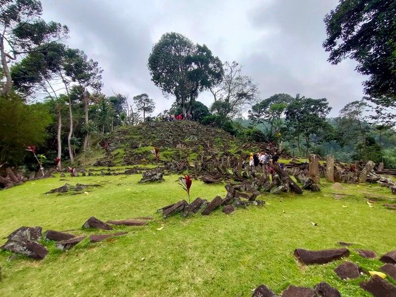 View Elok Gunung Padang