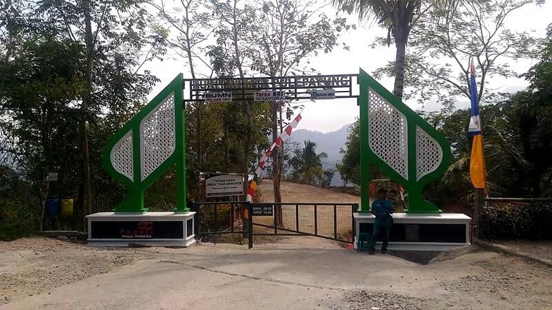 Akses Masuk Menuju Pule Payung Yogyakarta
