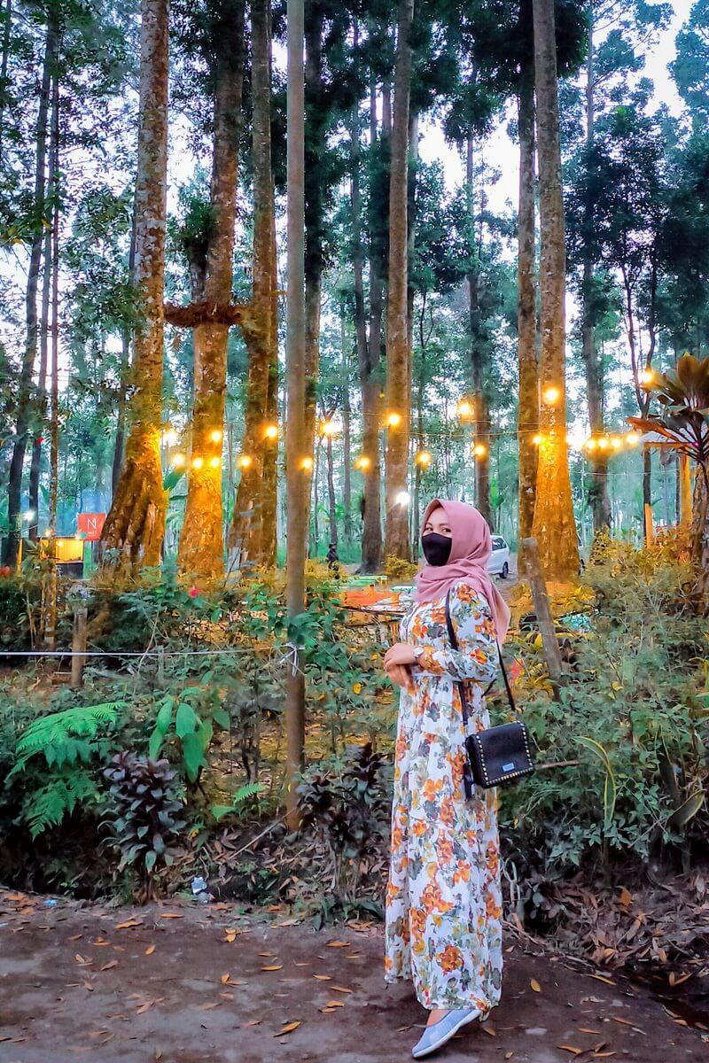 Berfoto Bersama Indahnya Suasana