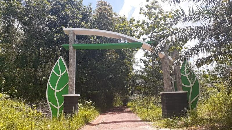 Gerbang Masuk Menuju Bukit Gebang Nangka