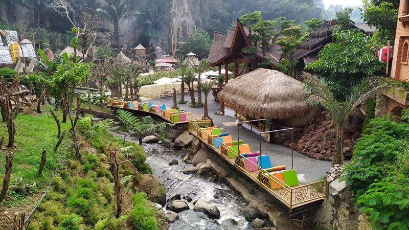 Konsep Wisata Alam The Great Asia Africa Lembang Bandung