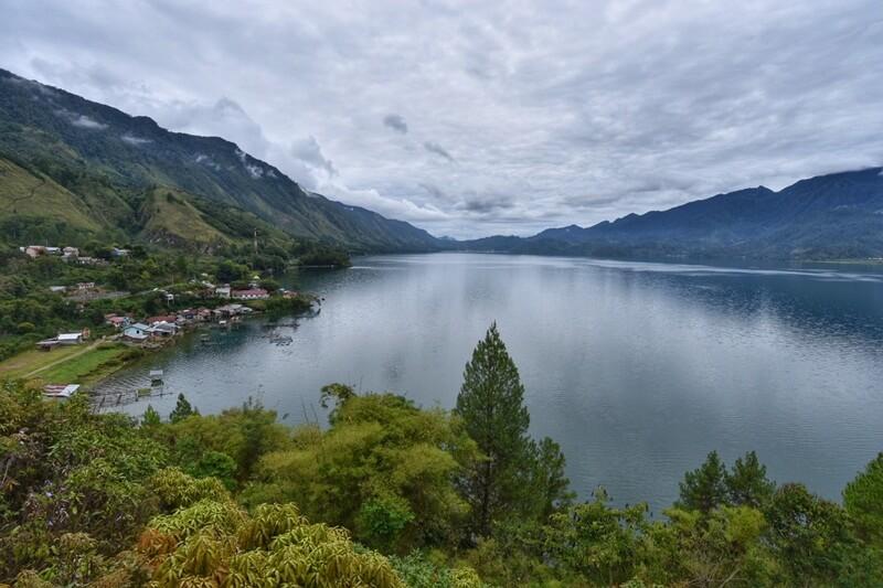 Landscape Danau Lut Tawar