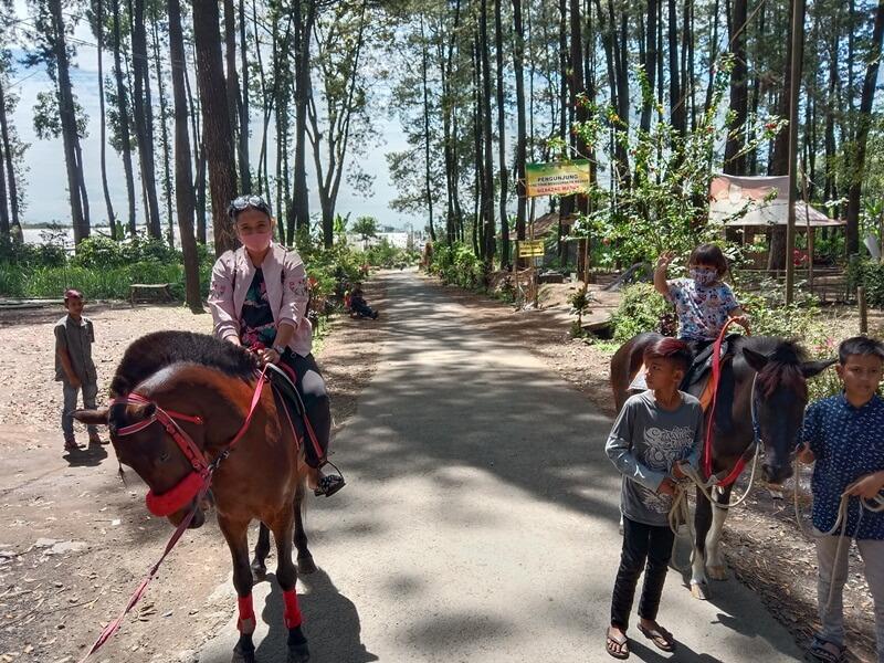 Mengelilingi Alas Bruno Dengan Menaiki Kuda