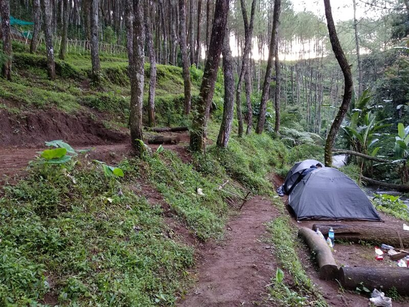 Area Camping Yang Tersedia Di Beberapa Titik
