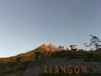 Bukit Klangon Jogja, Pesona Merapi Dari Bukit Kecil