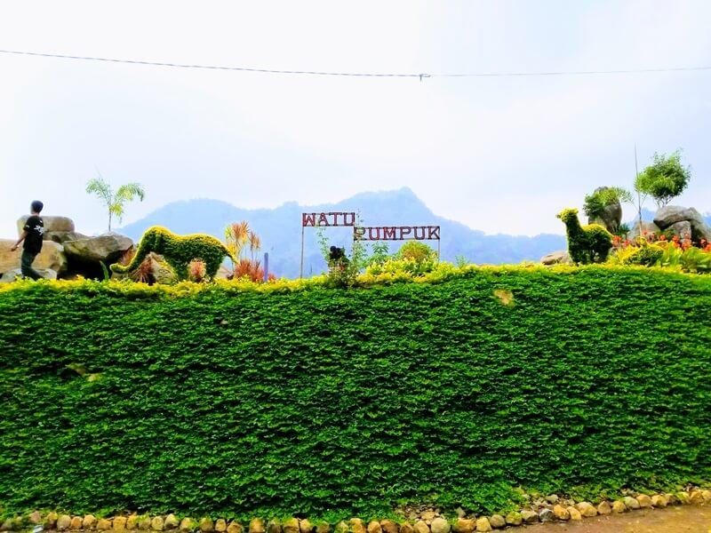 Destinasi Wisata Alam Watu Rumpuk Tapak Bimo