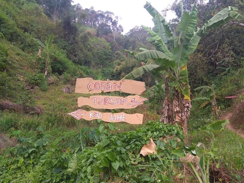 Petunjuk Jalan Menuju Coban Tarzan
