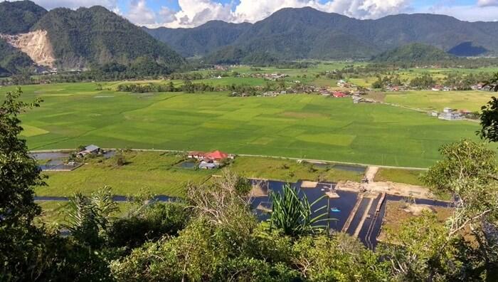 Bekas Area Rawa di sulap jadi tempat wisata.