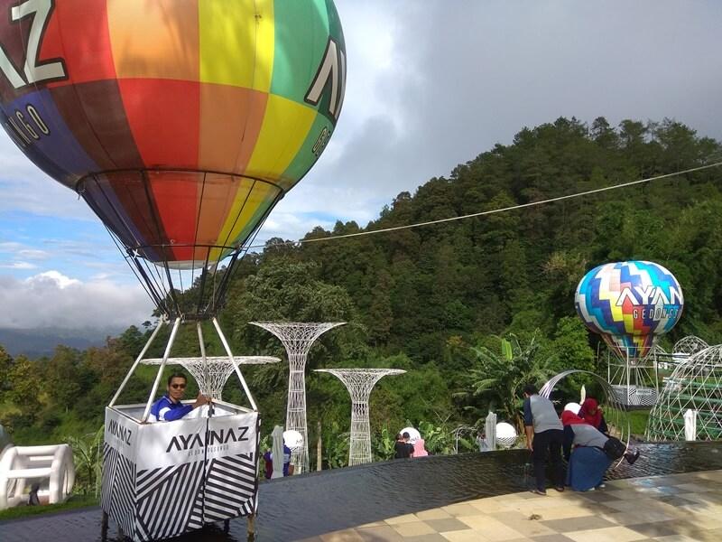 Balon Udara DI Ayanaz Gedongsongo