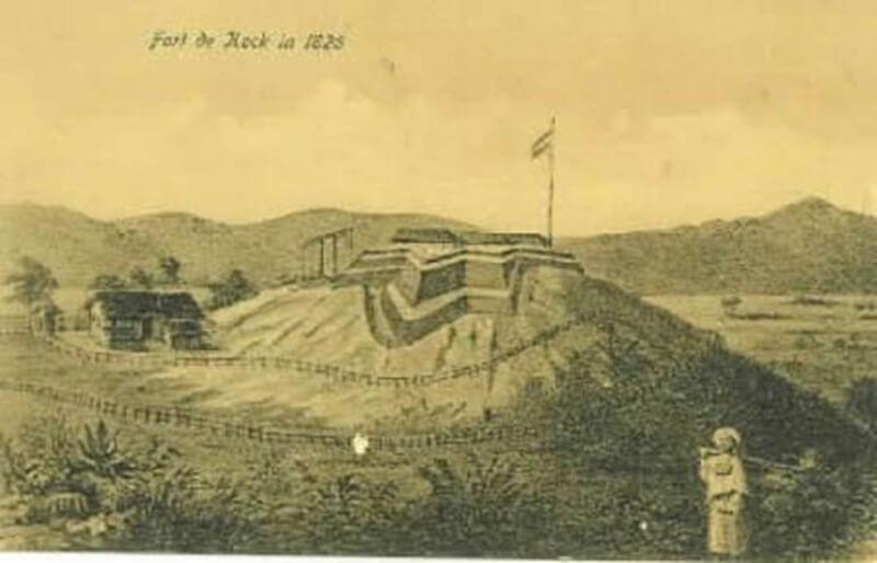 Benteng Fort De Kock Jaman Dahulu