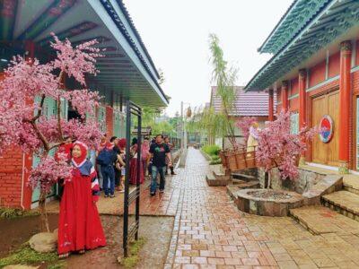 Kampung Korea Bandung, Teleportasi Ke Korea dari Portal Bandung
