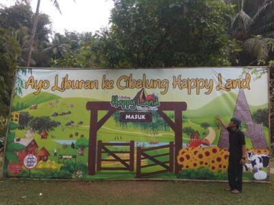Cibalung Happy Land, Puas Bermain di Alam Pedesaan