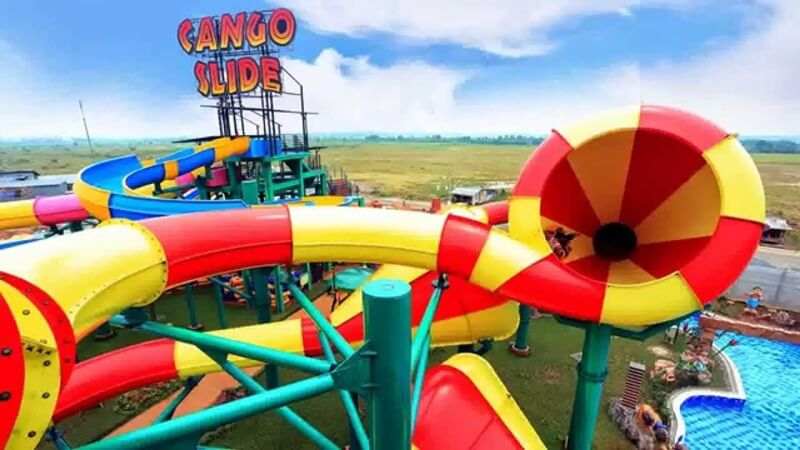 Cango Slide And Crazy Cone