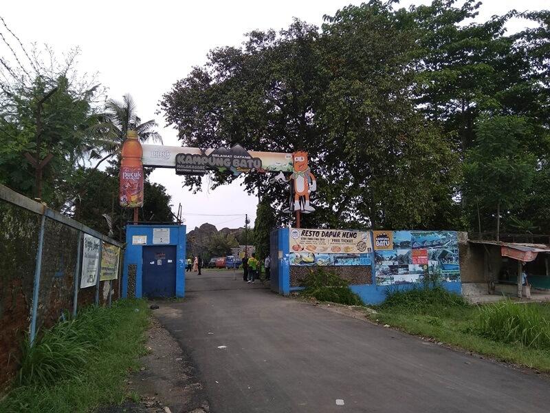 Gerbang Masuk Kampung Batu Malakasari