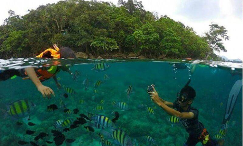 Jernihnya Air Laut Pulau Rubiah