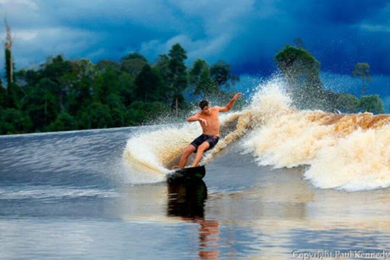 Ombak Bono Sungai Kampar