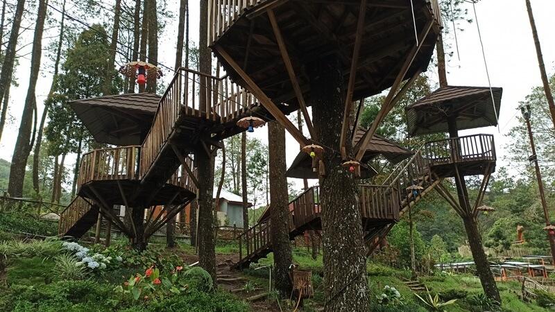 Rumah Pohon Lawu Park
