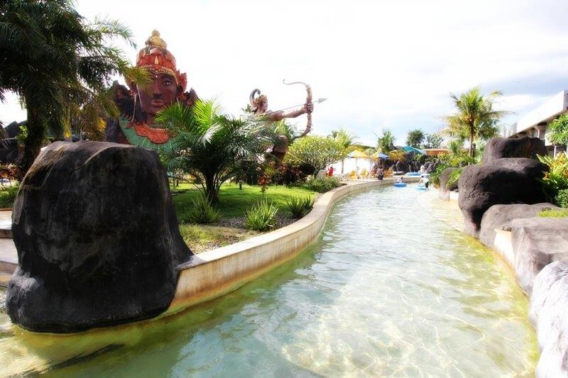 Salah Satu Kolam Di Pandawa Water World