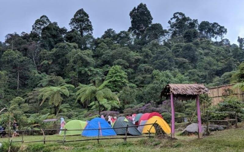Area Camping Di Curug Pangeran