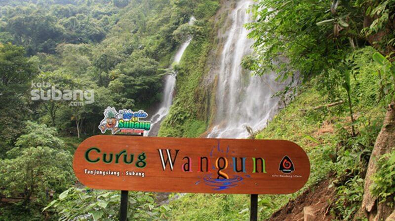 Curug Wangun Tanjungsiang Subang