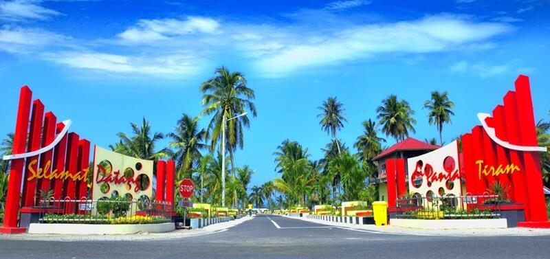 Gerbang Pantai Tiram