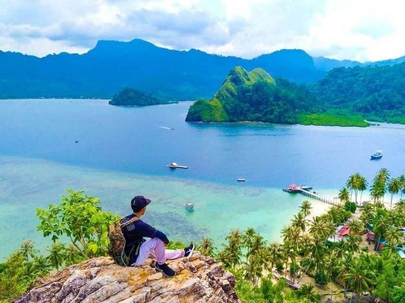 Pesona Alam Pulau Pasumpahan