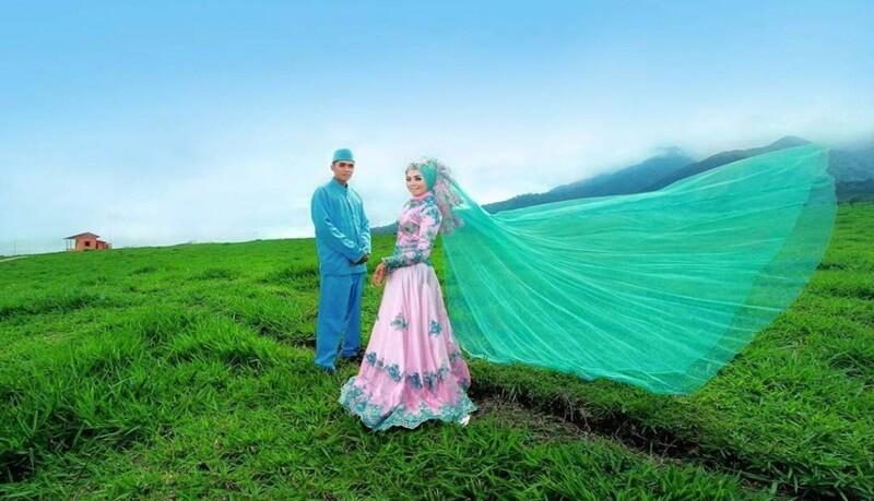 Pre Wedding Di Padang Mengatas
