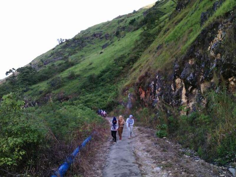 Rute Menuju Puncak Gagoan