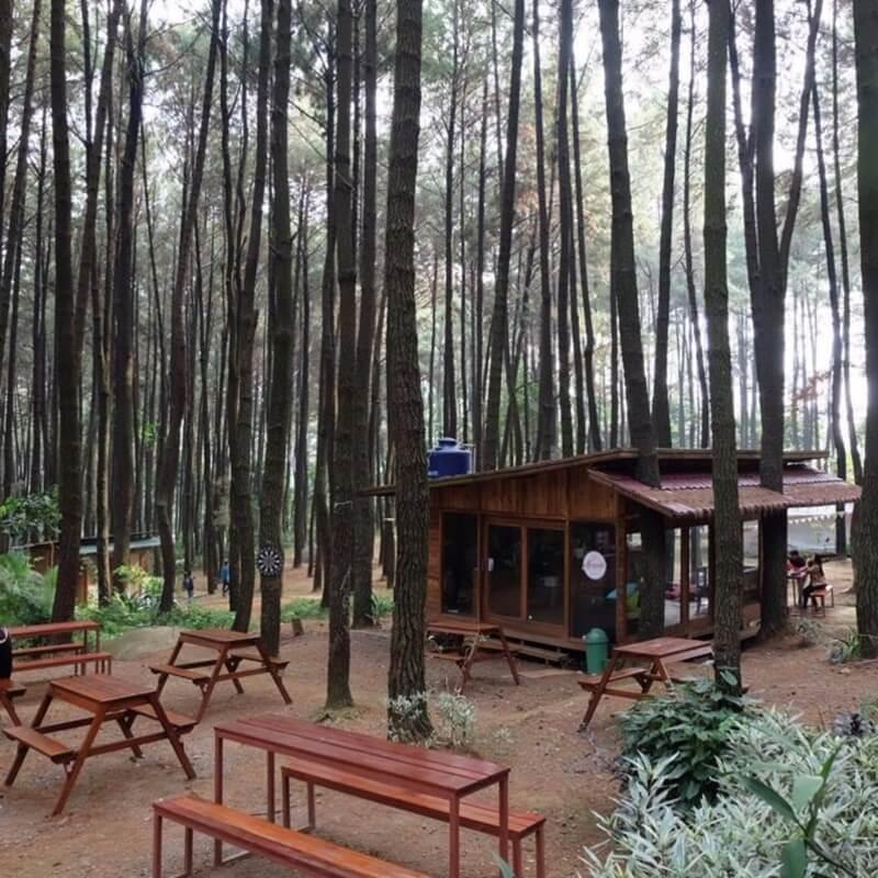 Salah Satu Kios di Hutan Pinus Sentul