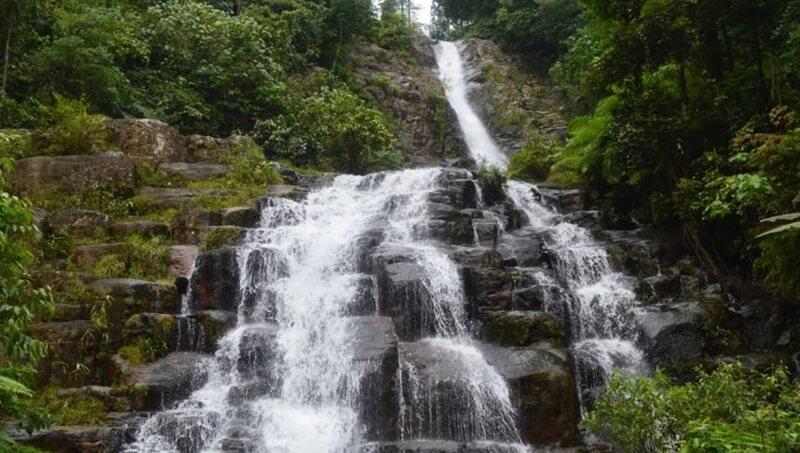 Tingkatan Air Terjun Sarasah Batimpo