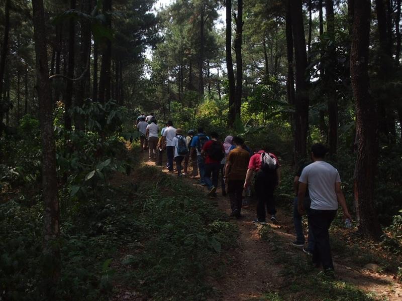 Tracking Di Gunung Pancar