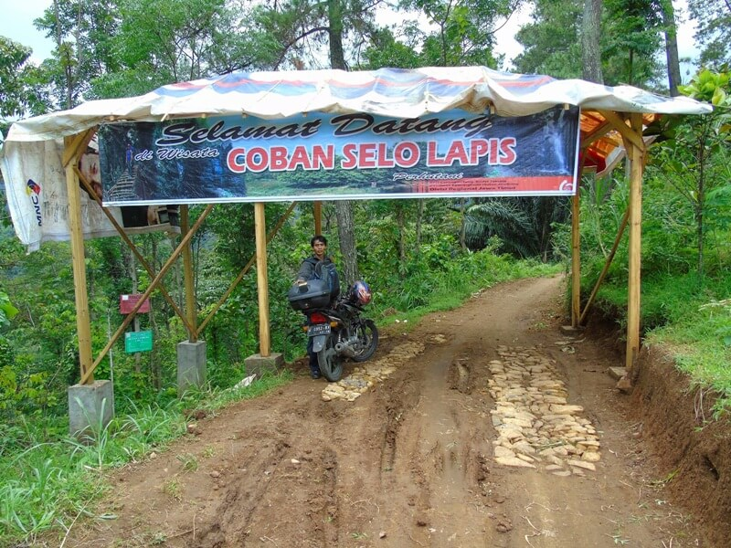 Akses Jalan Menuju Coban Selo Lapis