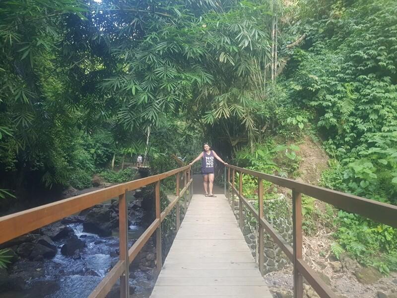 Jembatan Menuju Air Terjun Tibumana