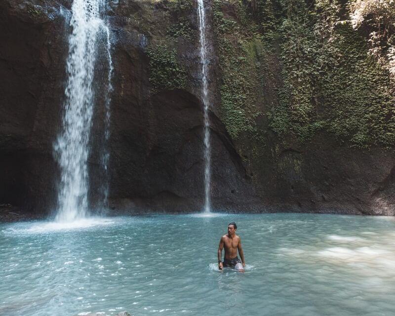 Kolam Air Terjun Tibumana