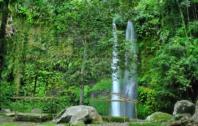 Landscape Air Terjun Sendang Gile