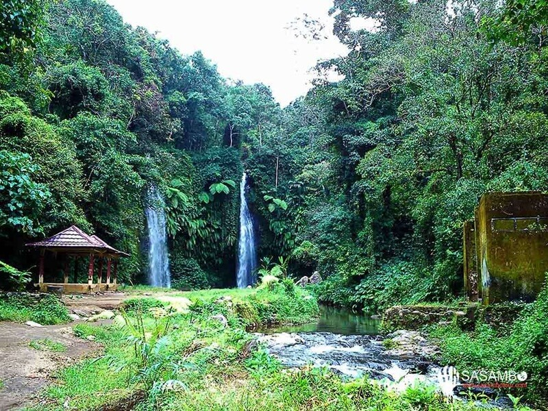 Lokasi Utama Air Terjun Benang Stokel